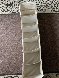 6 Section Closet Organizer Hanging Shelves With Sturdy Metal Frame for Sale in Auburn,  WA