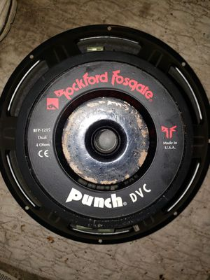 Rockford fosgate punch DVC old school car audio for Sale in Florissant, MO