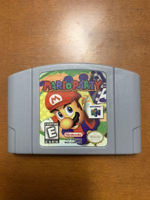 Mario Party Nintendo 64 for Sale in Miami Lakes, FL