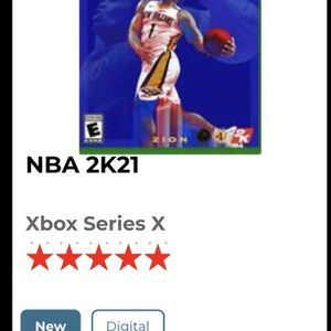 Digital Copy Of NBA 2k Xbox Series X for Sale in Katy, TX