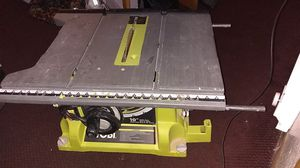 Ryobi 10 inch table saw,15 amp, great condition for Sale in Edmonds, WA