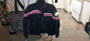 Women's Fulmer motorcycle jacket and gloves for Sale in Vero Beach, FL
