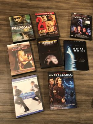 DVDs drama scary catch me if you can for Sale in Payson, AZ