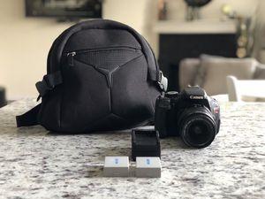 Canon t3i for Sale in Cedar Hill, TX