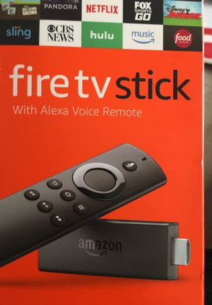 Amazon fire TV stick to it and actually voice remote for Sale in Washington, DC