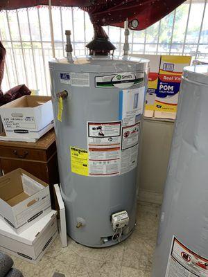 New 74 gallons gas water heater 90 days warranty garantia por escrito for Sale in Dallas, TX