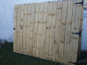 Heavy duty 15 foot car gate for Sale in Hampton, VA