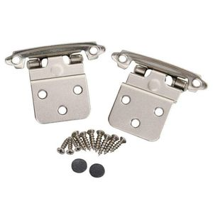 "20 pcs Kitchen Self Closing Inset Hinge 3/8"" Face Mount Hinge Cabinet Door Hinges NEW for Sale in San Diego, CA"