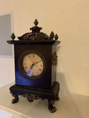 Antique Vintage Brown and Gold Grandpa Grandfather clock decor home furniture for Sale in Richardson, TX