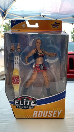 MATTEL WWE ELITE COLLECTION SERIES 77 RONDA ROUSEY ACTION FIGURE SUMMERSLAM for Sale in Redlands, CA
