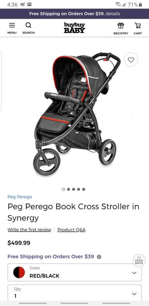 Peg Perego Book Cross stroller only $180 for Sale in San Jose, CA