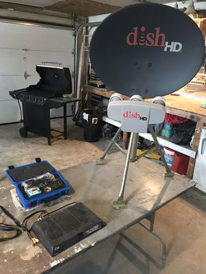 Dish portable receiver great for camping and tailgating for Sale in Columbiaville, MI
