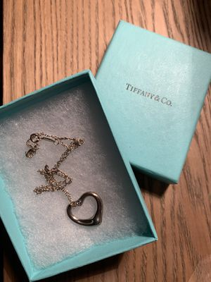 Tiffany open heart necklace for Sale in Lincolnwood, IL