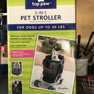Dog Stroller With Carry Bag for Sale in San Jose, CA