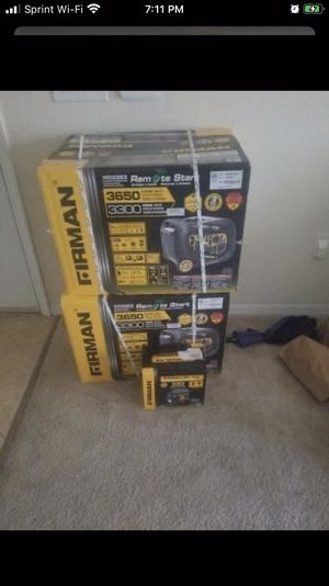 Generators brand new in box for Sale in Joint Base Andrews, MD