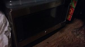 Stainless steel microwave LG for Sale in San Diego, CA