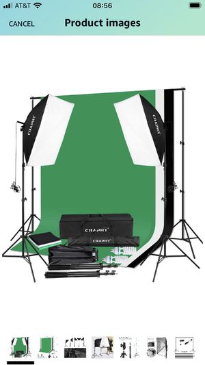 Photography Lighting and Backdrops for Sale in Addison, TX