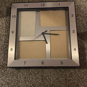 Frame/Clock Wall for Sale in Marysville, WA