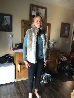 Faux fur jacket or vest for Sale in Hesperia, CA