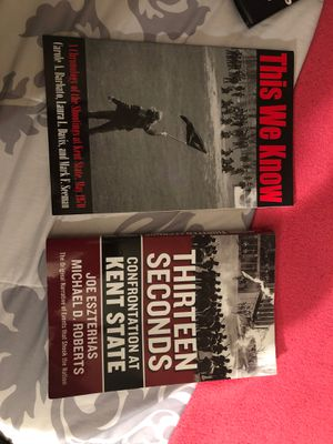 Kent State May 4th book combo for Sale in Akron, OH