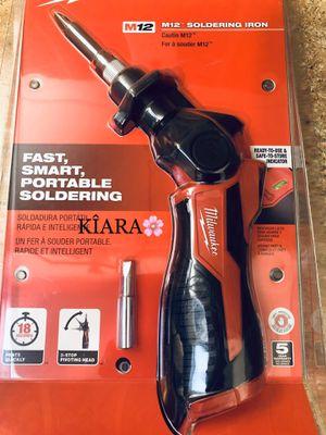 Milwaukee Soldering Iron M12 for Sale in Anaheim, CA