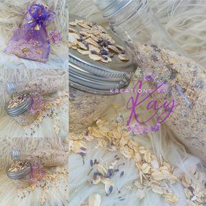 Oatmeal and Lavender bath soak for Sale in Trenton, NJ