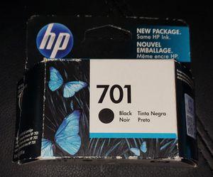HP INK 701 Cartridge (Black) New for Sale in Bridgeport, CT