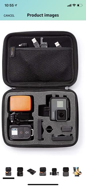 NEW GoPro carrying/ travel case in black for Sale in Plano, TX