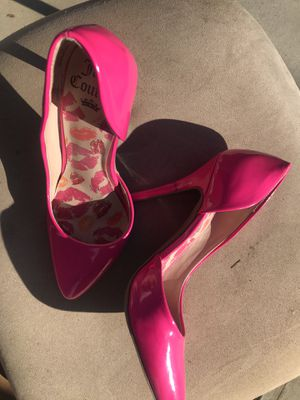 "Juicy couture 4"" pumps for Sale in Palm Desert, CA"