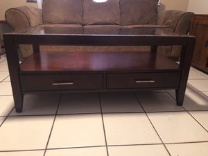 Glass top coffee table/End Table/Sofa/Couch for Sale in Largo, FL
