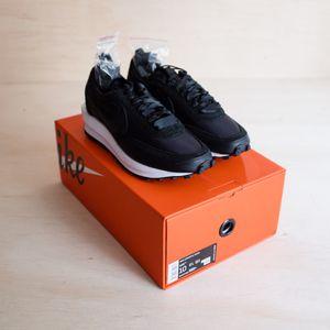 Nike LD Waffle Sacai Black Nylon Size 10 for Sale in Bothell, WA