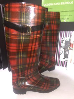 Ralph Lauren rain boots size 7 for Sale in Dublin, OH