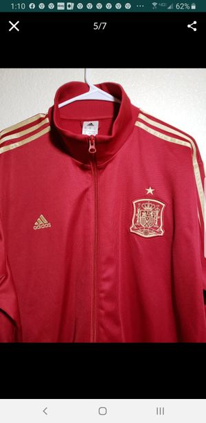 Red Adidas coat for Sale in Las Vegas, NV