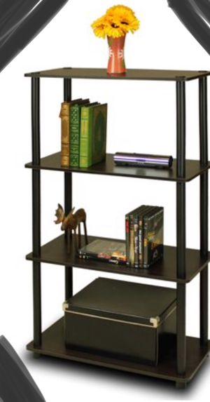 New!! Bookcase, display, 4 shelf bookcase, bookshelves, organizer, living room furniture, storage unit , black espresso for Sale in Phoenix, AZ
