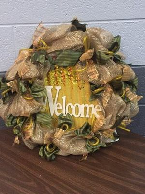 Holiday Welcome Wreath for Sale in Inwood, WV