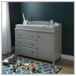 Changing Table With Drawers And Cabinet for Sale in Tarpon Springs,  FL