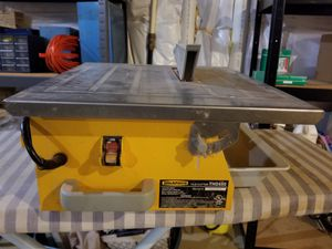 "Workforce 7"" Wet Tile Cutter Saw for Sale in Fort Belvoir, VA"