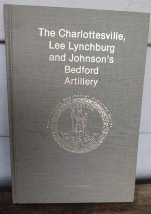 Charlottesville, Lee Lynchburg & Johnson's Bedford Artillery for Sale in Fort Defiance, VA