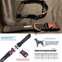 Classic Dog Collar with Quick Release Buckle Adjustable Dog Collars for Medium Large Dogs, size Large. New. for Sale in Phoenix,  AZ