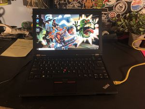 "Lenovo Laptop ThinKpad 12.5"" 240ssd 4gb ram Windows 10 for Sale in Oakland Park, FL"