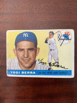 1955 Topps Yogi Berra NY Yankees for Sale in Raynham, MA