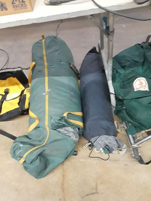 Camping gear TENTS , CAMP COT ,BACKPACK for Sale in Lombard, IL