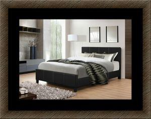Full platform bed with free box spring and delivery for Sale in Crofton, MD