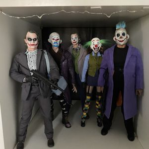Hot Toys Bank Robber Joker And Squad. for Sale in River Forest, IL