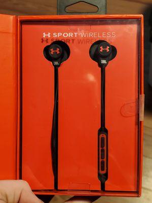 JBL Under Armour by Harman wireless Bluetooth headphones for Sale in Scottsdale, AZ