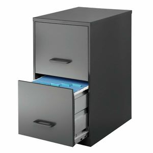 New Realspace® Charcoal Metal 2-Drawer Vertical File Cabinet for Sale in Vista, CA