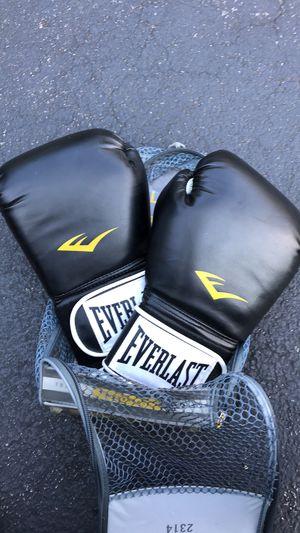 Everlast 14oz boxing gloves for Sale in Kingsport, TN