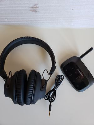 Avantree BTHT5009 Wireless Headphones for TV Watching W/ Bluetooth Transmitter. for Sale in Adelphi, MD