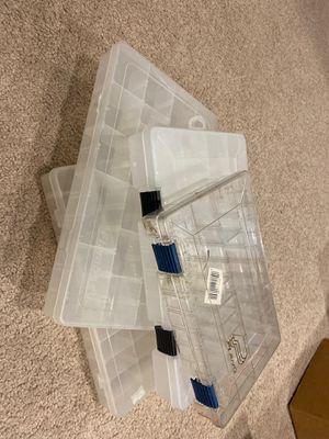 Fishing storage box for Sale in Wheaton, IL