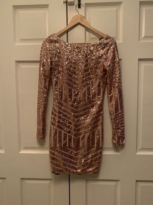 Gold dress for Sale in Los Angeles, CA
